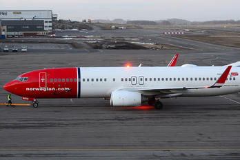 LN-NOW - Norwegian Air Shuttle Boeing 737-800