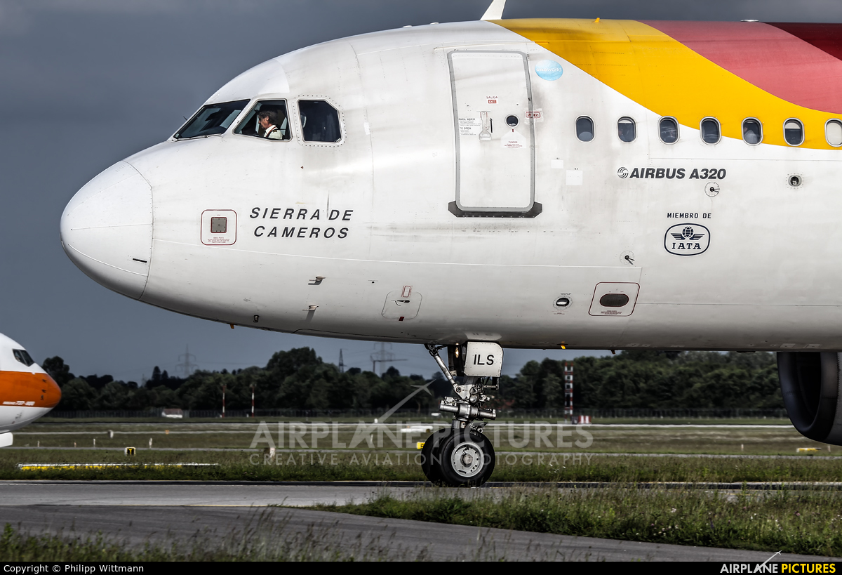 Iberia EC-ILS aircraft at Munich