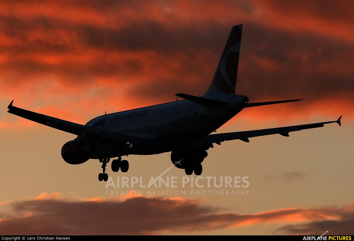 CSA - Czech Airlines OK-PET aircraft at London - Heathrow