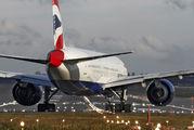 G-VIIJ - British Airways Boeing 777-200 aircraft