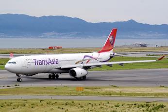 B-22102 - TransAsia Airways Airbus A330-300