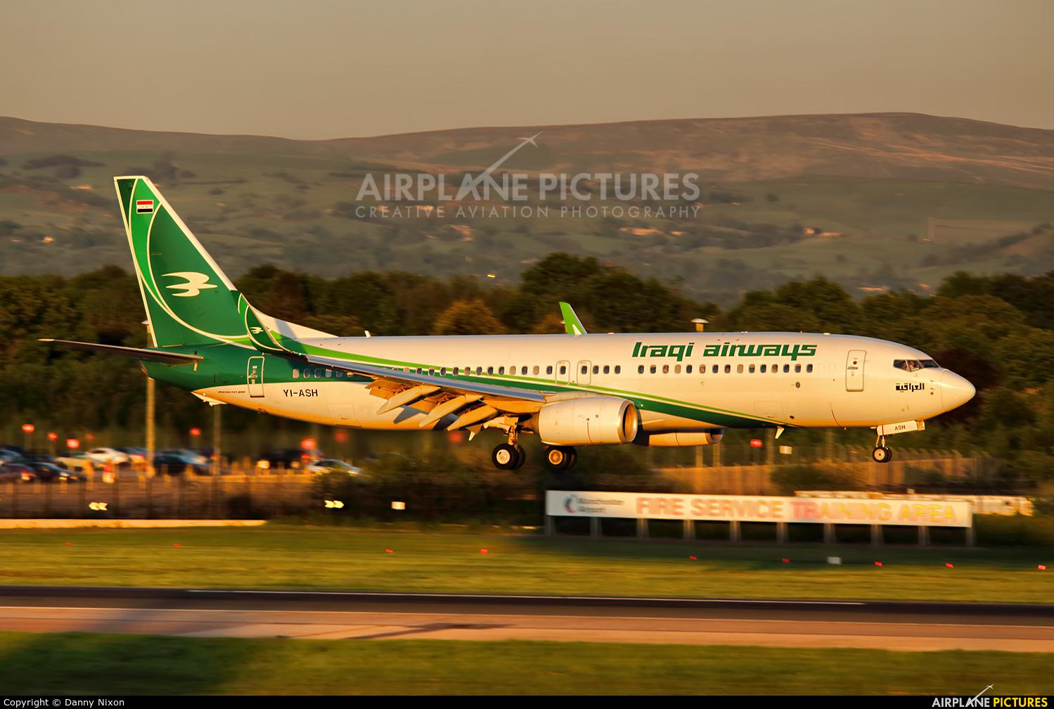 Iraqi Airways YI-ASH aircraft at Manchester