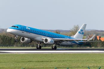 PH-EZM - KLM Cityhopper Embraer ERJ-190 (190-100)