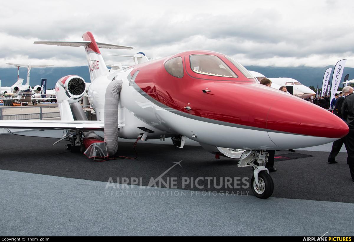 Honda Aerospace N420HE aircraft at Geneva Intl