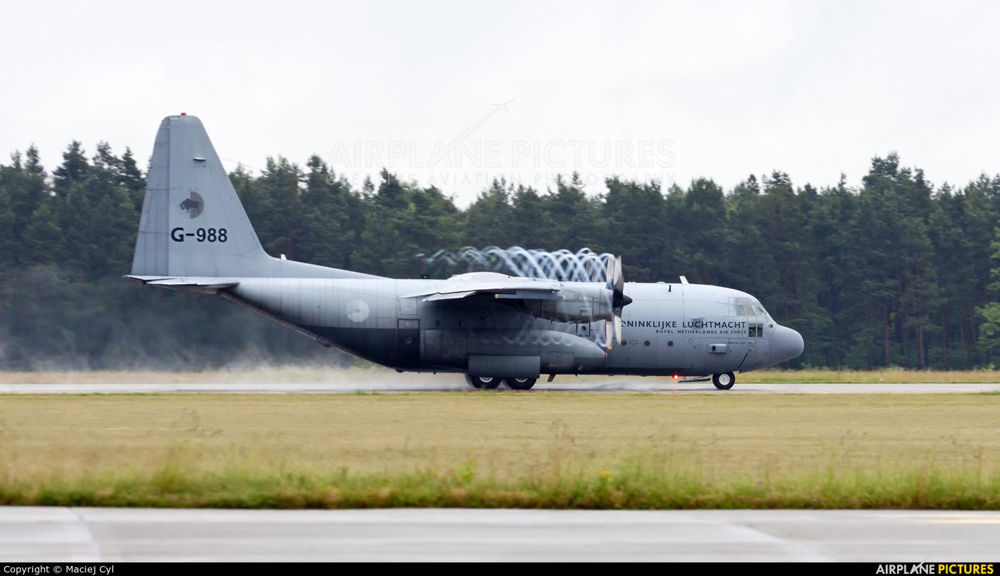 Netherlands - Air Force G-988 aircraft at Babimost