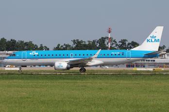 PH-EZW - KLM Cityhopper Embraer ERJ-190 (190-100)
