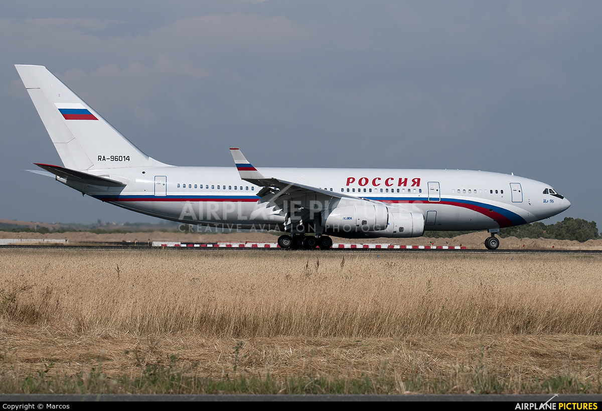 Rossiya RA-96014 aircraft at Rome - Fiumicino