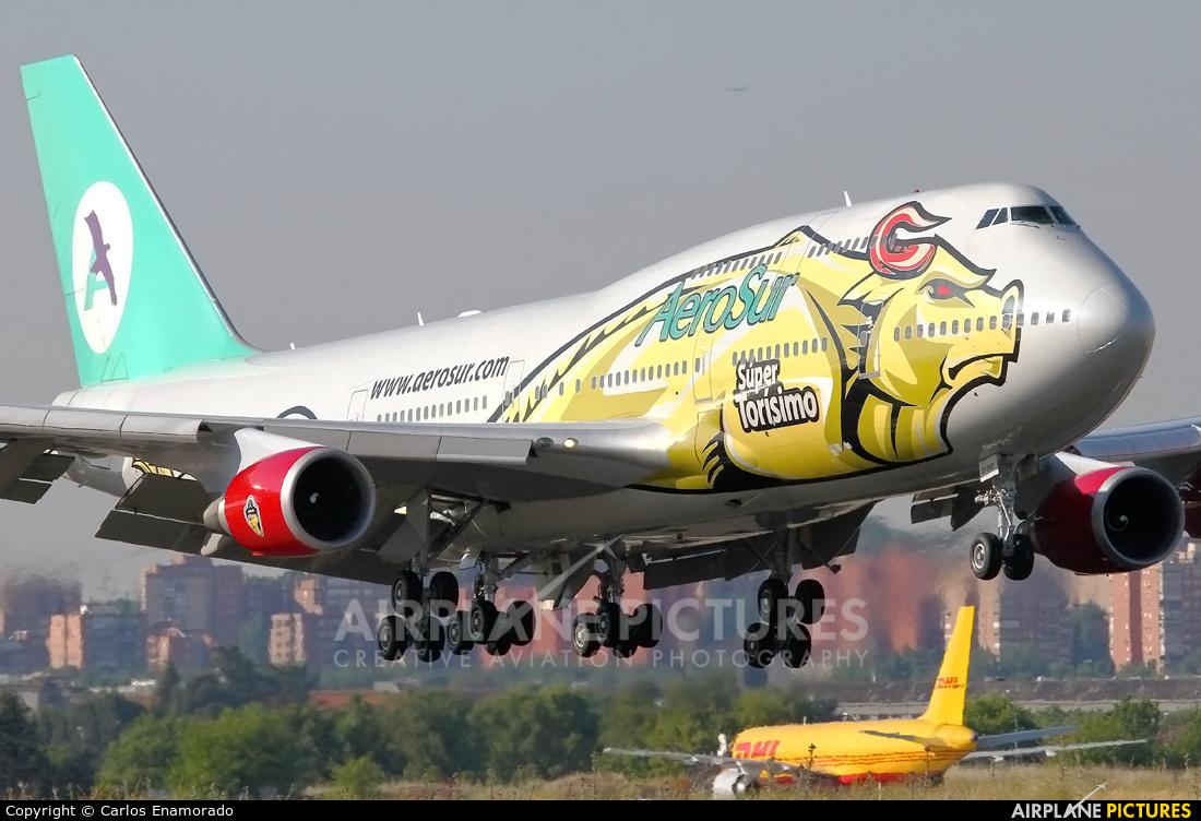 Aerosur CP-2603 aircraft at Madrid - Barajas