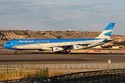 LV-CSD - Aerolineas Argentinas Airbus A340-300 aircraft