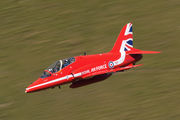 "XX232 - Royal Air Force ""Red Arrows"" British Aerospace Hawk T.1/ 1A aircraft"