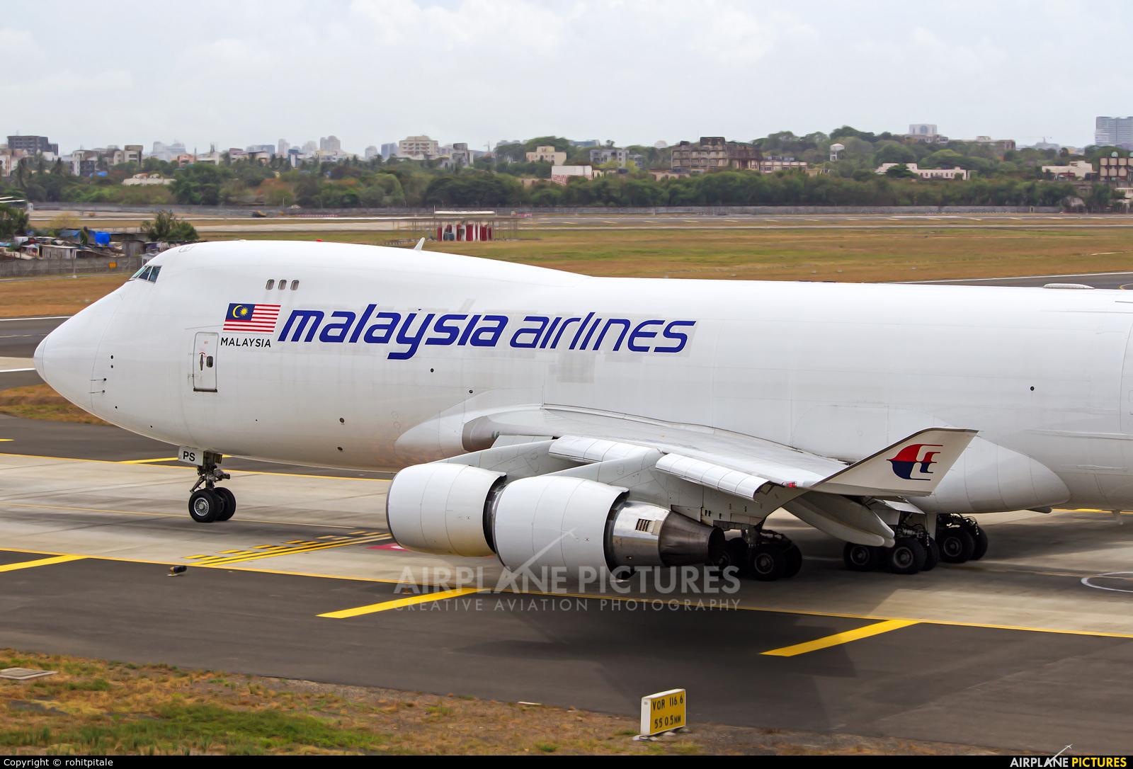 Malaysia Airlines 9M-MPS aircraft at Mumbai - Chhatrapati Shivaji Intl