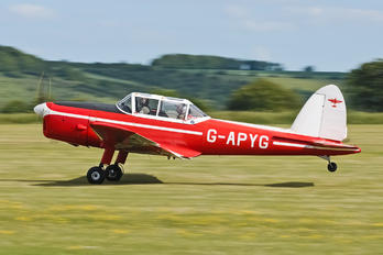 G-APYG - Private de Havilland Canada DHC-1 Chipmunk