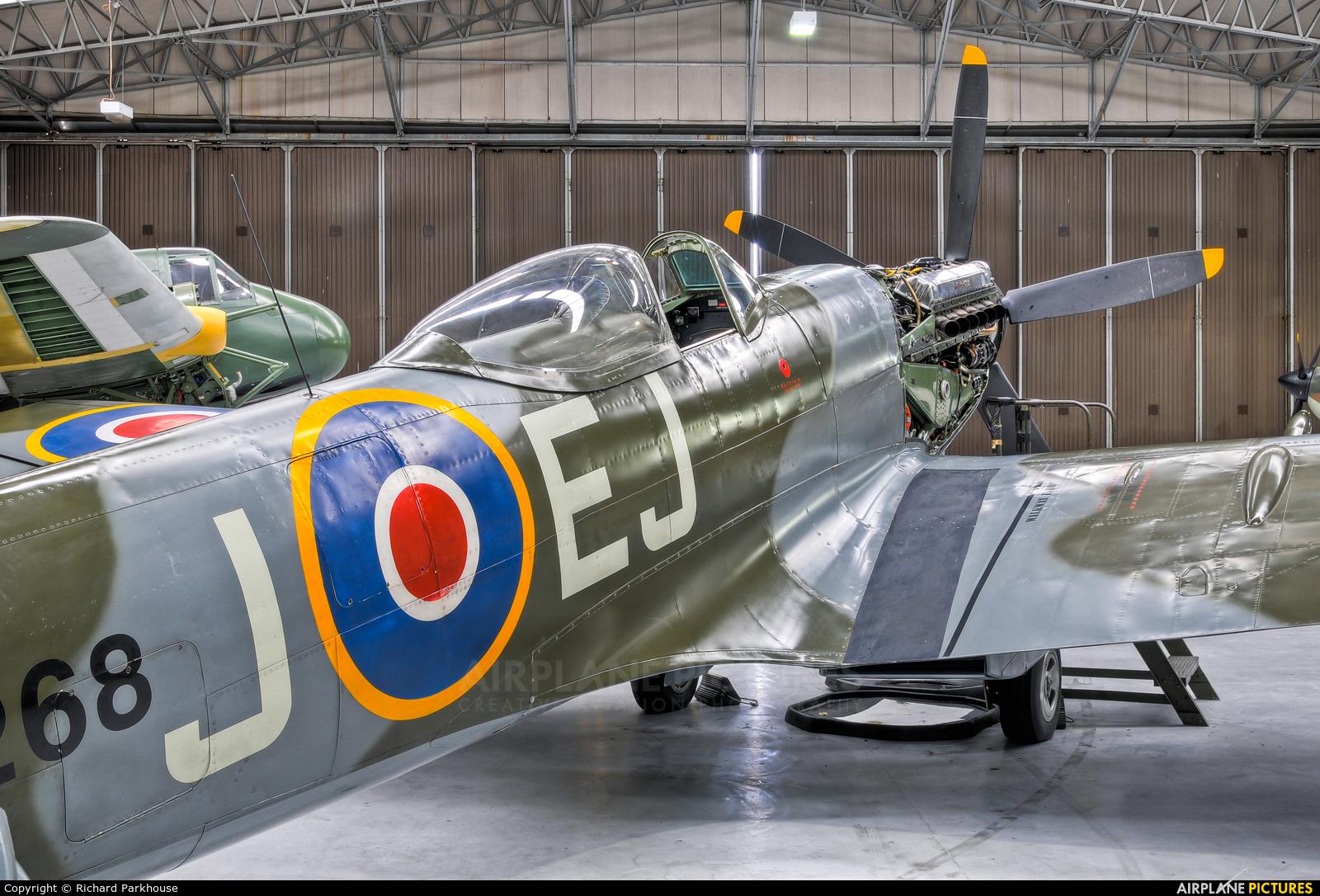 Patina G-SPIT aircraft at Duxford