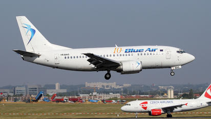 YR-BAG - Blue Air Boeing 737-500