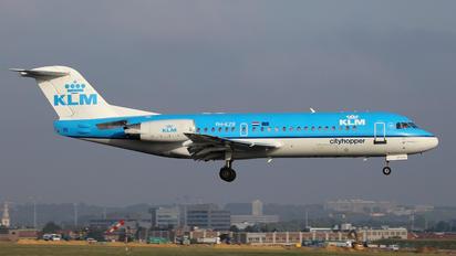PH-KZR - KLM Cityhopper Fokker 70