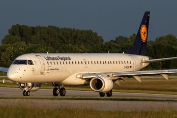 D-AEBE - Lufthansa Regional - CityLine Embraer ERJ-195 (190-200)