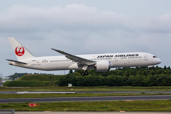 JA861J - JAL - Japan Airlines Boeing 787-9 Dreamliner