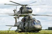 - - Royal Navy Agusta Westland AW101 411 Merlin HC.3 aircraft