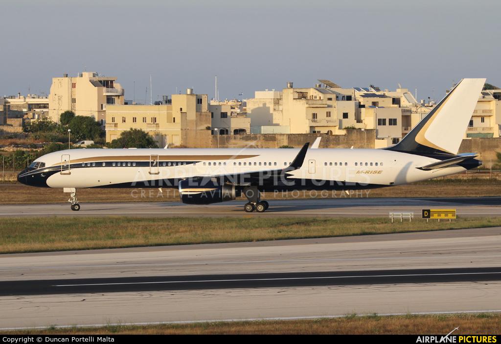 Talos Aviation M-RISE aircraft at Malta Intl
