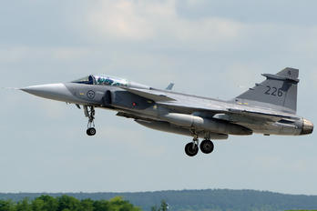 226 - Sweden - Air Force SAAB JAS 39C Gripen