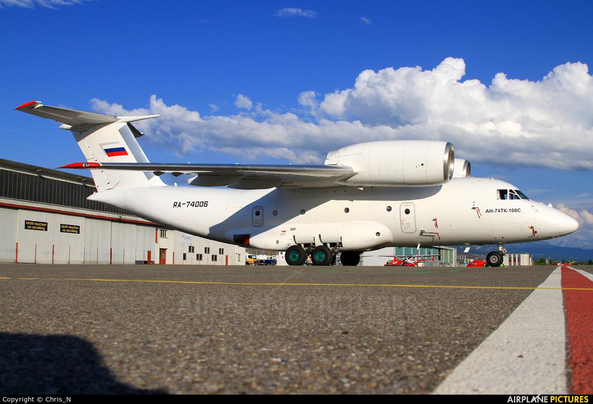 2nd Sverdlovsk Aviation Enterprise RA-74006 aircraft at Bern - Belp