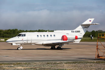 RA-02809 - Aerolimousine Airline Hawker Siddeley HS.125-700A