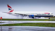 G-ZZZB - British Airways Boeing 777-200 aircraft