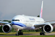 B-18002 - China Airlines Boeing 777-300ER aircraft