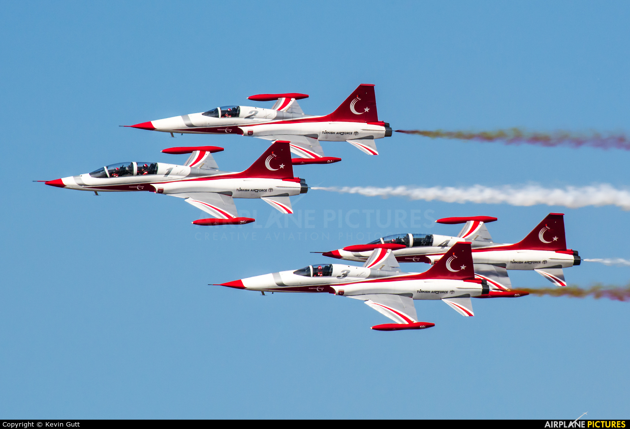 Turkey - Air Force : Turkish Stars 71-3049 aircraft at Poznań - Ławica