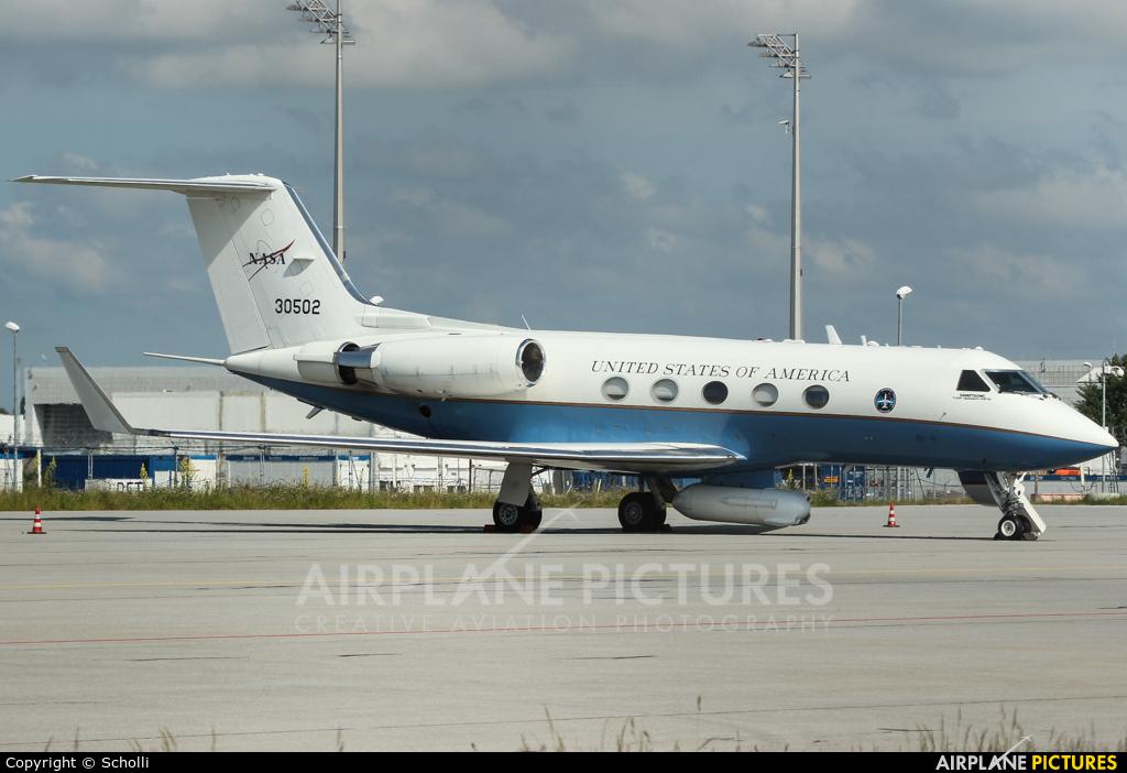 83-0502 - NASA Gulfstream Aerospace G-III at Munich ...