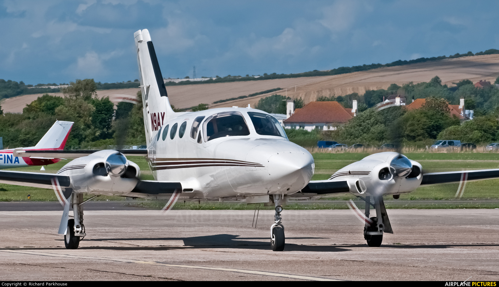 Private N9AY aircraft at Brighton - Shoreham