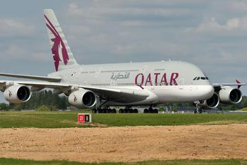 A7-APE - Qatar Airways Airbus A380