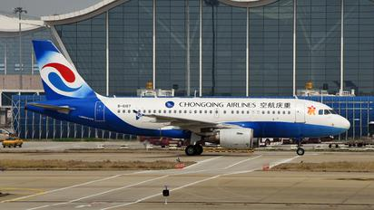 B-6187 - Chongqing Airlines Airbus A320
