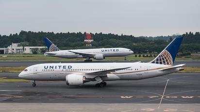 N20904 - United Airlines Boeing 787-8 Dreamliner