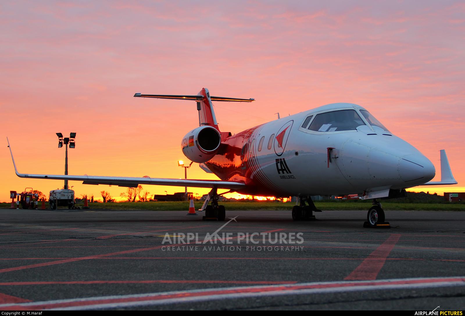 FAI - Flight Ambulance International D-CFAI aircraft at Dublin