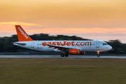 G-EZUZ - easyJet Airbus A320 aircraft