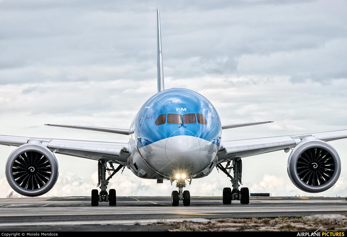 Arke/Arkefly PH-TFM aircraft at Tenerife Sur - Reina Sofia