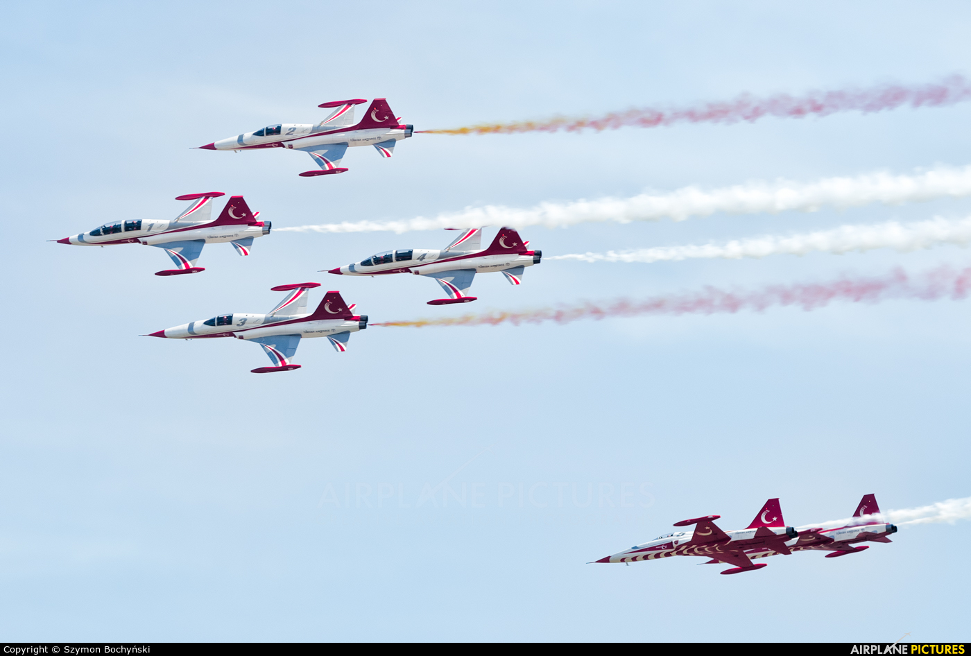 Turkey - Air Force : Turkish Stars 71-3049 aircraft at Poznań - Ławica