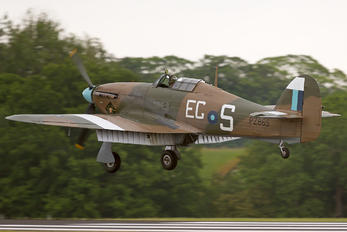 "PZ865 - Royal Air Force ""Battle of Britain Memorial Flight& Hawker Hurricane IIC"
