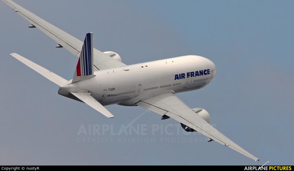 Air France F-GSPR aircraft at Amsterdam - Schiphol