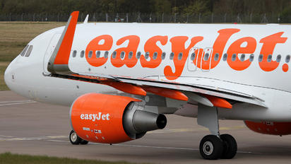 G-EZOB - easyJet Airbus A320