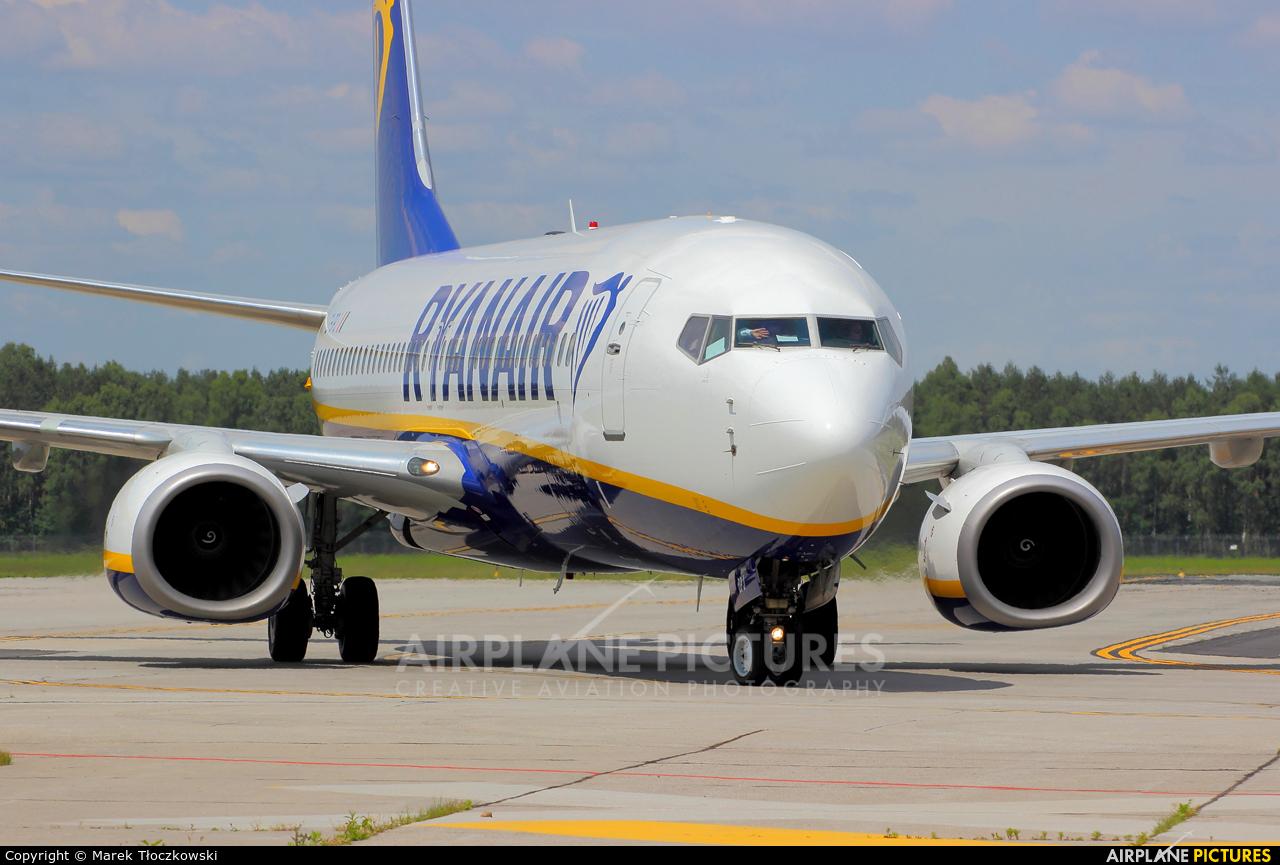 Ryanair EI-DPJ aircraft at Modlin