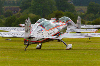 "G-ZXEL - 2 Excel Aviation ""The Blades Aerobatic Team&quo Extra 300L, LC, LP series"