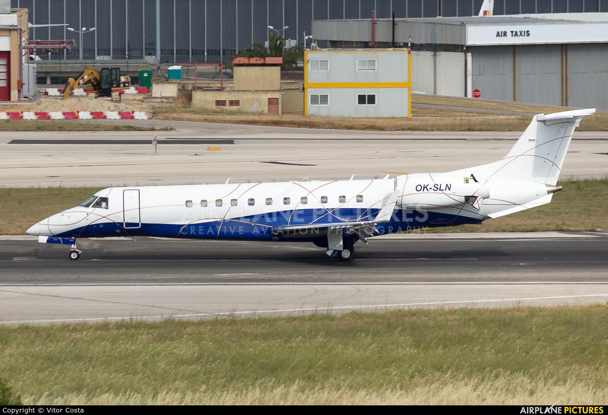 ABS Jets OK-SLN aircraft at Lisbon