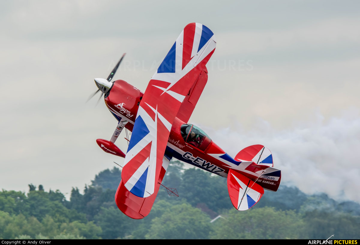 Rich Goodwin Airshows G-EWIZ aircraft at Cosford - RAF Museum