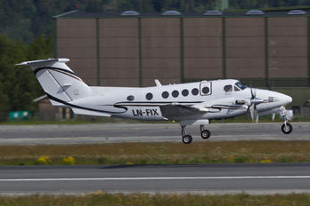 LN-FIX - Airwing Beechcraft 200 King Air