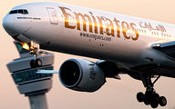 A6-EBC - Emirates Airlines Boeing 777-300ER aircraft