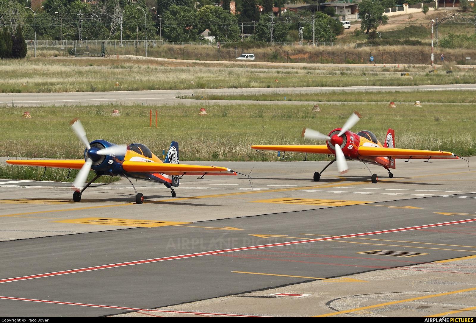 Bravo3/Repsol Team EC-HYU aircraft at Sabadell