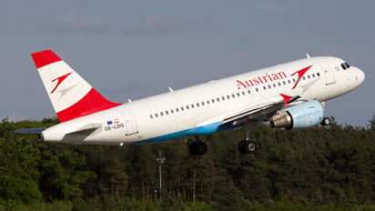 OE-LDG - Austrian Airlines/Arrows/Tyrolean Airbus A319