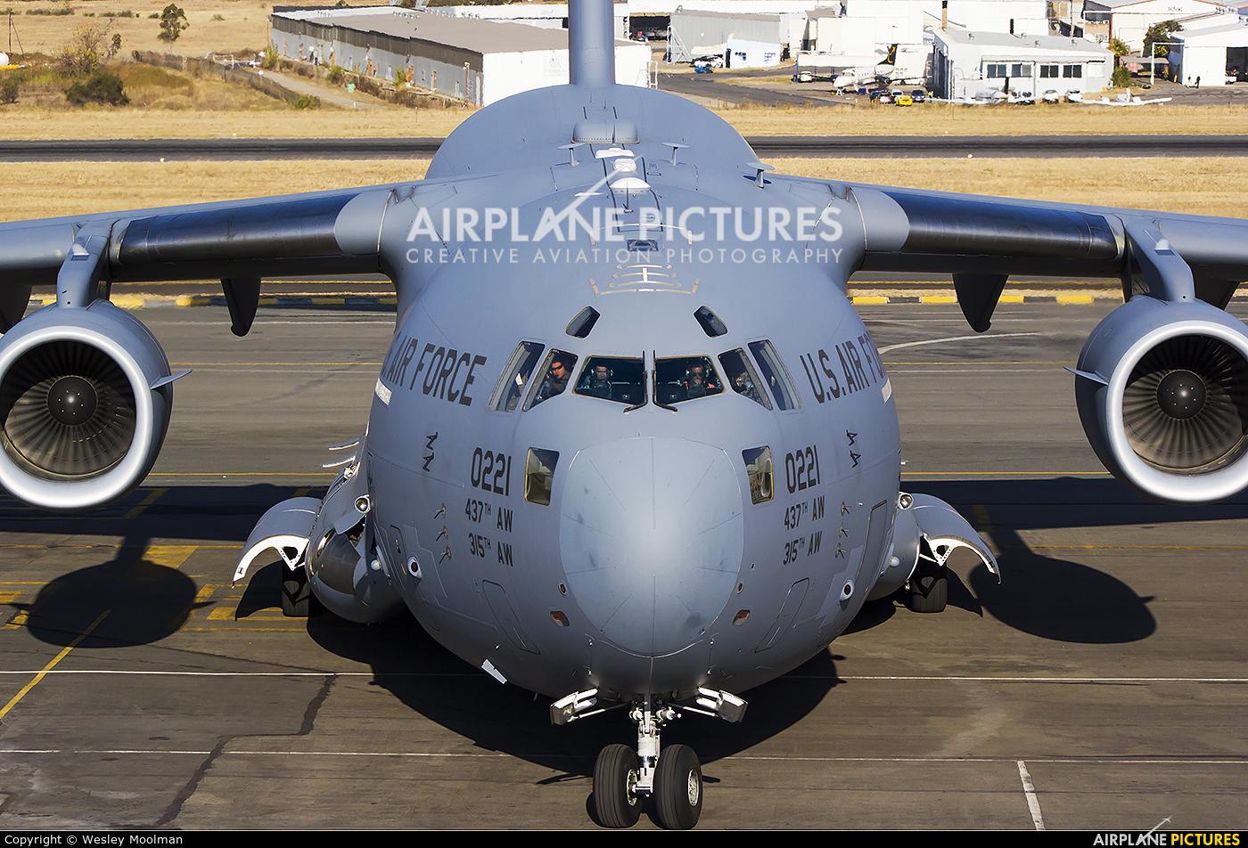 USA - Air Force 10-0221 aircraft at Lanseria